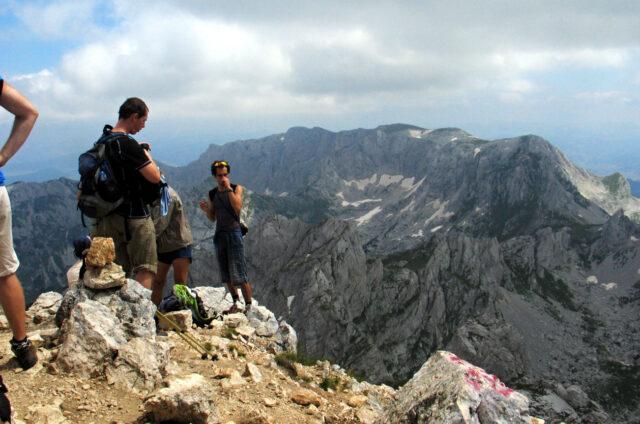 Na vrcholu Durmitoru, Černá Hora