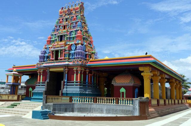 Nadi, hinduistický Šivův chrám, Viti Levu, Fidži
