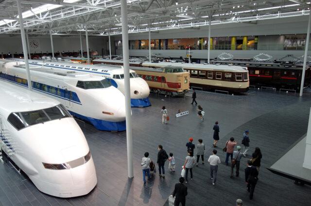 Nagoja, železniční muzeum, Japonsko