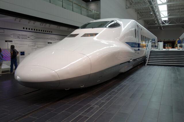 Nagoja, muzeum vlaků, Japonsko