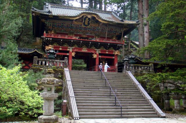 Nikkó, šintoistická svatyně Tóšógú, Japonsko