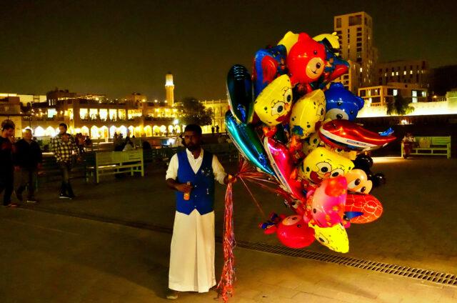 Noční život města, Dauhá, Katar