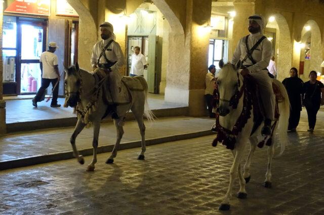 Noční Dauhá, Katar