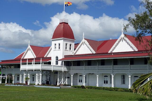 Nuku´alofa, královský palác, Tongatapu, Tonga