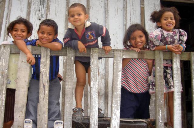 Obyvatelé Tegucigalpy, Honduras