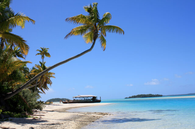 One Foot Island, Aitutaki, Cookovy o.