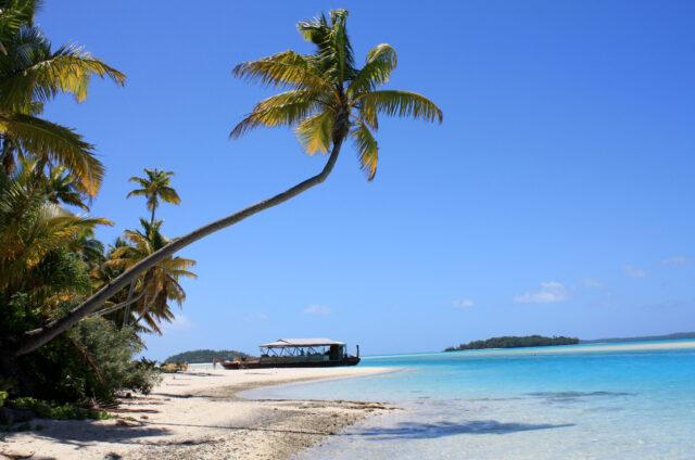 One Foot Island, Aitutaki, Cookovy o.
