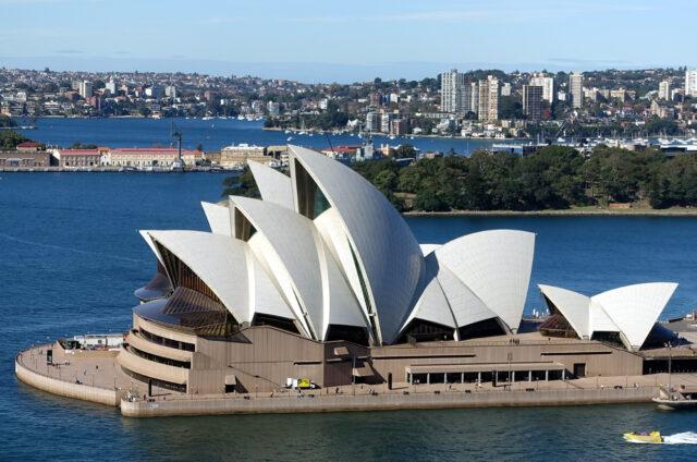 Opera v Sydney, NSW, Austrálie