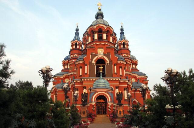 Ortodoxní kostel, Irkutsk, Rusko