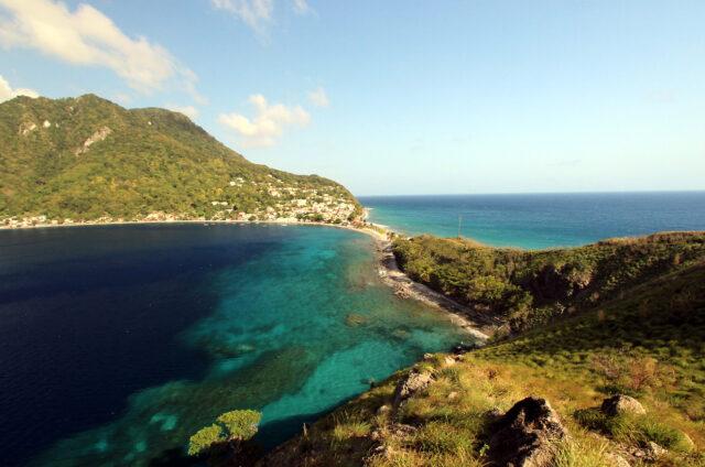 Ostrov Scotts Head, Dominika
