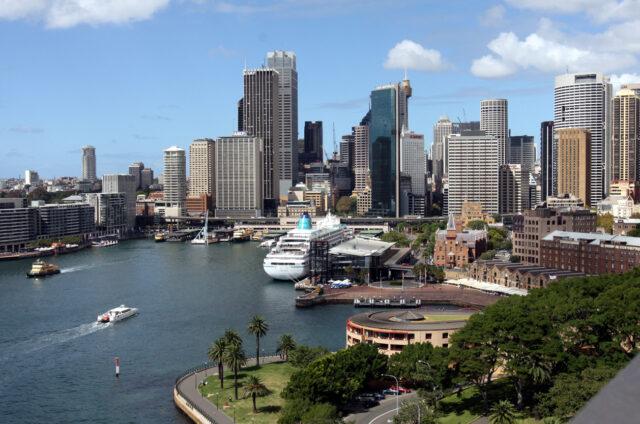 Přístav v Sydney, Austrálie