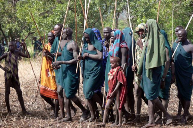 Pastevci, Etiopie