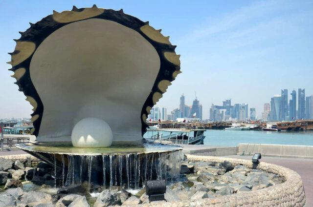 Perlová fontána, Dauhá, Katar