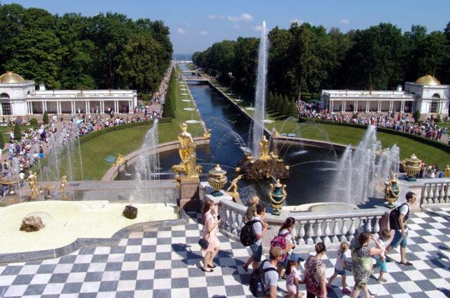 Petrodvorce, Petrohrad, Rusko