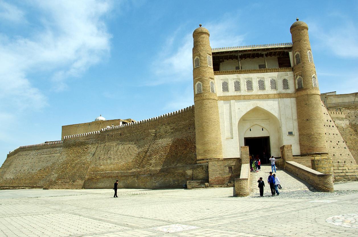 Pevnost Arg, Buchara, Uzbekistán