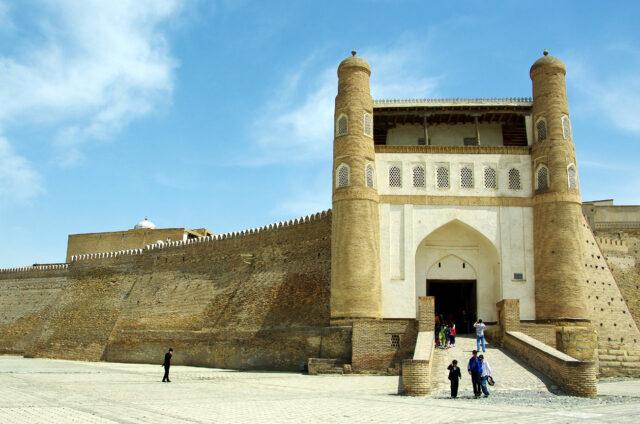 Pevnost Ark, Buchara. Uzbekistá