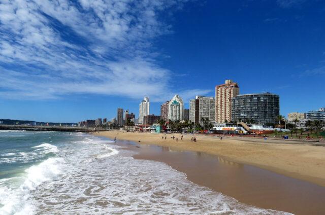 Pláž, Durban, JAR