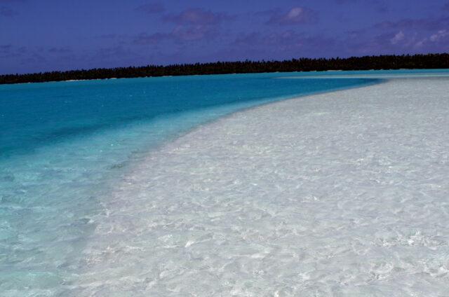 Pláž, atol Aitutaki