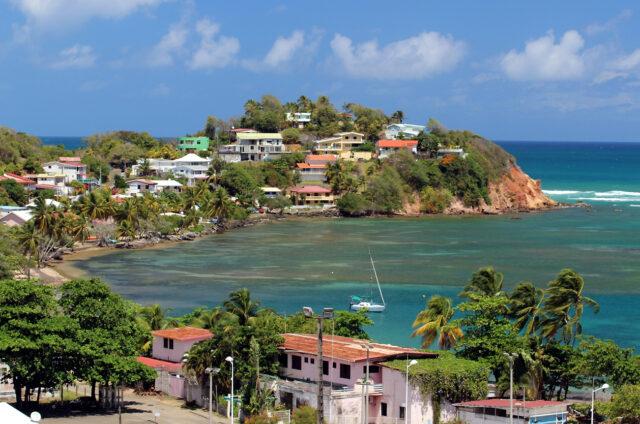 Poloostrov La Caravelle, Martinik