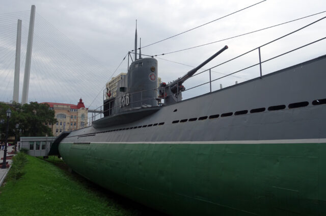 Ponorka S56 Stalinec, Vladivostok, Rusko