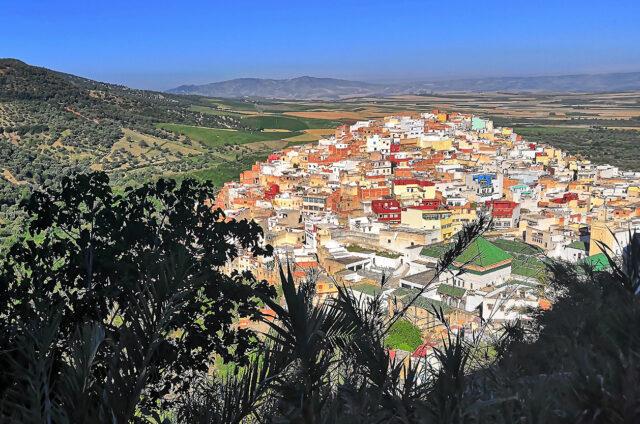 Posvátný Moulay Idriss, Maroko