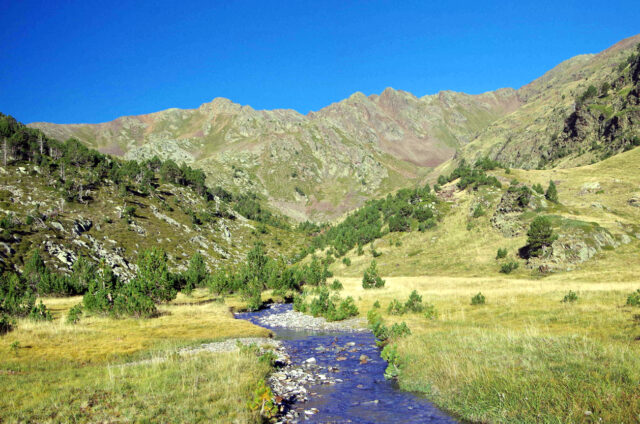 Potok pod Comapedrosa, Andorra