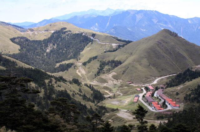 Průsmyk pod horou Hehuan (3422m), Tcha-jwan