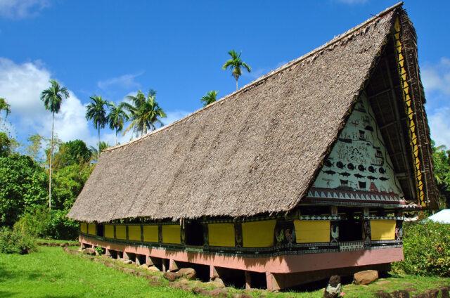 Prastaré tradiční Yapese domy, Mikronésie