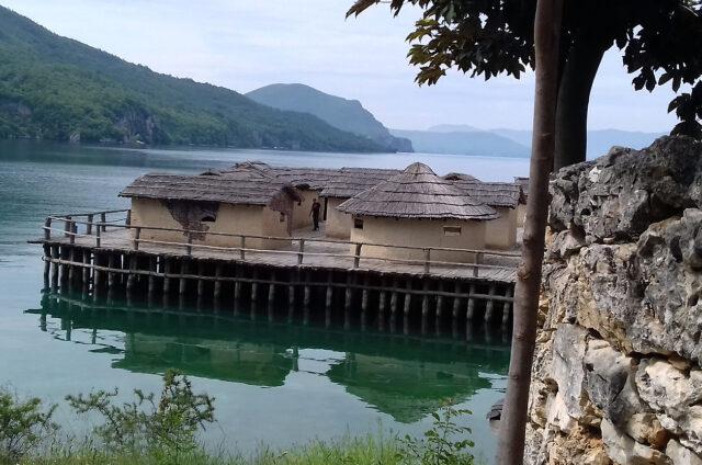 Pravěká vesnice na jezeře, Zátoka kostí, S. Makedonie
