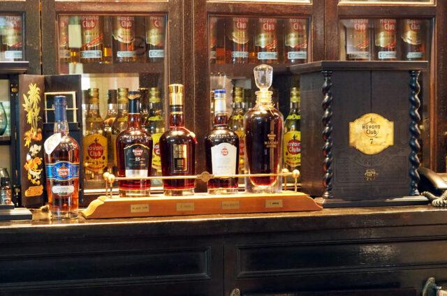 Proslulý kubánský rum, Kuba