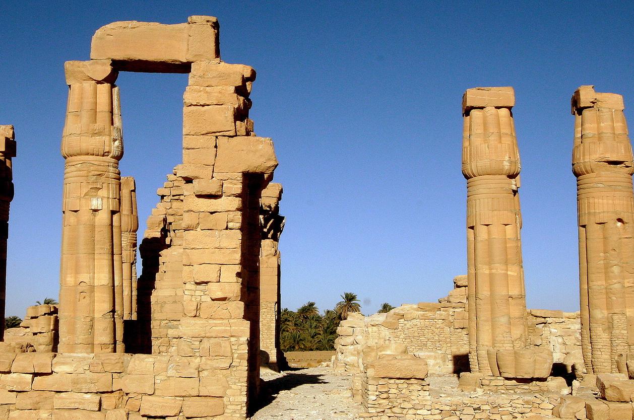 Ruiny Amonova chrámu, Súdán