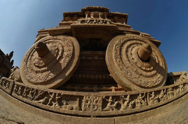 Ruiny středověkého Hampi, Indie