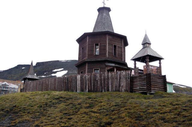 Ruský pravoslavný kostel, Wanek Barenstburg, Špicberky
