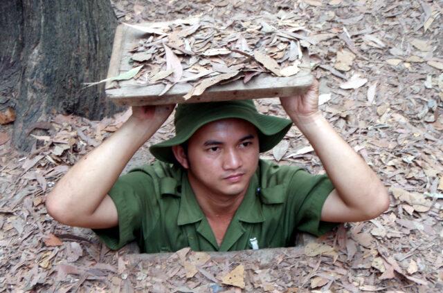 Síť tunelů Cu Chi, Vietnam