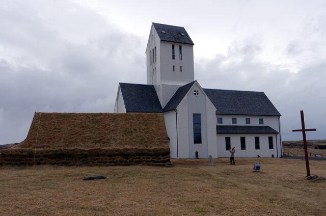 Sídlo biskupů Skálholt, Island