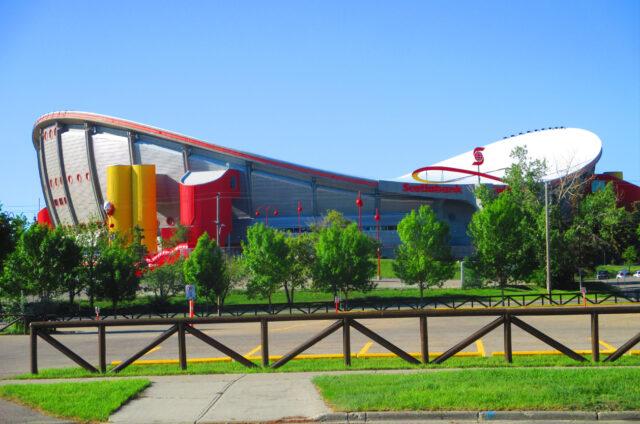 Saddledome stadion Calgary Flames, Calgary, Kanada