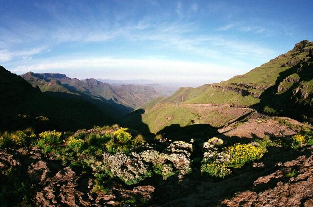 Scenérie hor, Lesotho