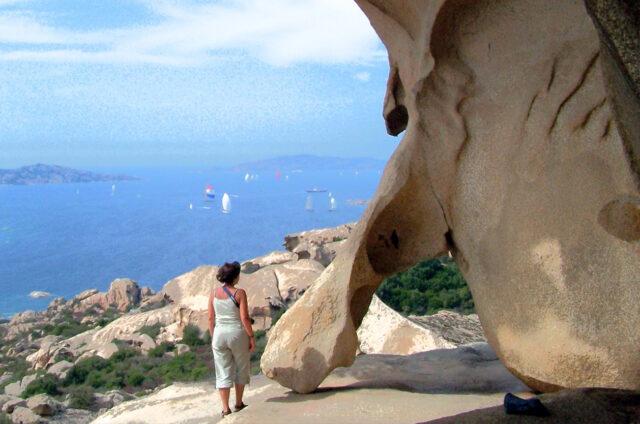 Skalní útvary, Capo d'Orso, Sardinie