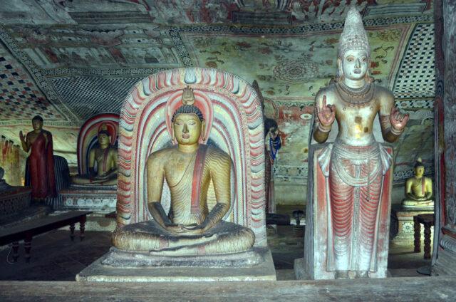 Skalní chrám, Dambulla, Srí Lanka