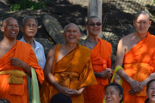 Skupina mnichů, Srí Lanka