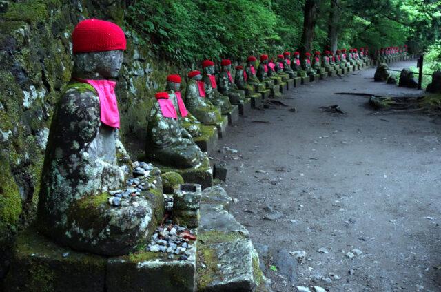 Sošky Buddhy v N.P. Nikkó, Japonsko