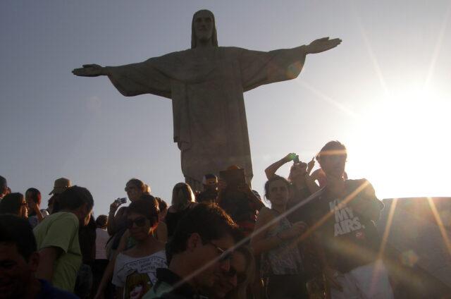 Socha Krista Spasitele, Rio de Janeiro, Brazílie