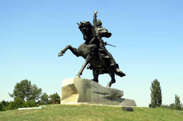 Socha Suvorova, Tiraspol, Moldávie