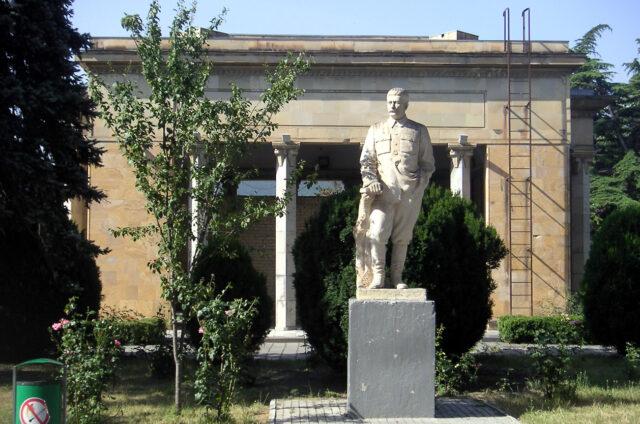 Stalinova socha, Gori, Gruzie