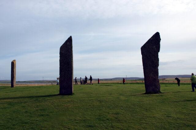 Standing Stones, Orkneye, Skotsko