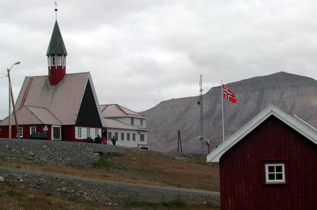 Svalbard Kirke v Longyearbyen