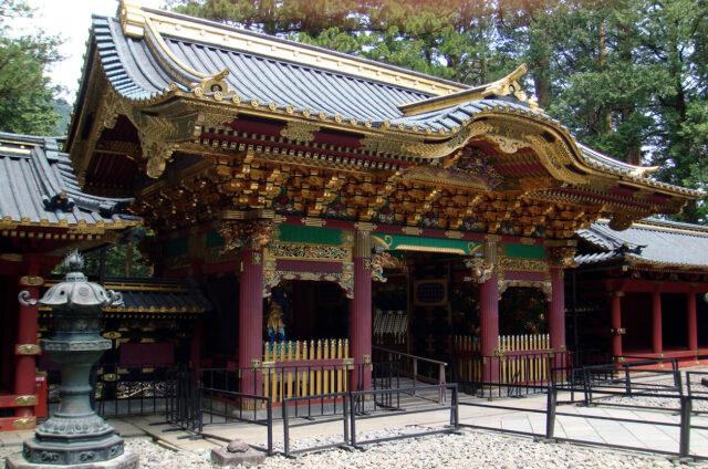 Svatyně a mauzoleum Tóšógú, Nikkó, Japonsko