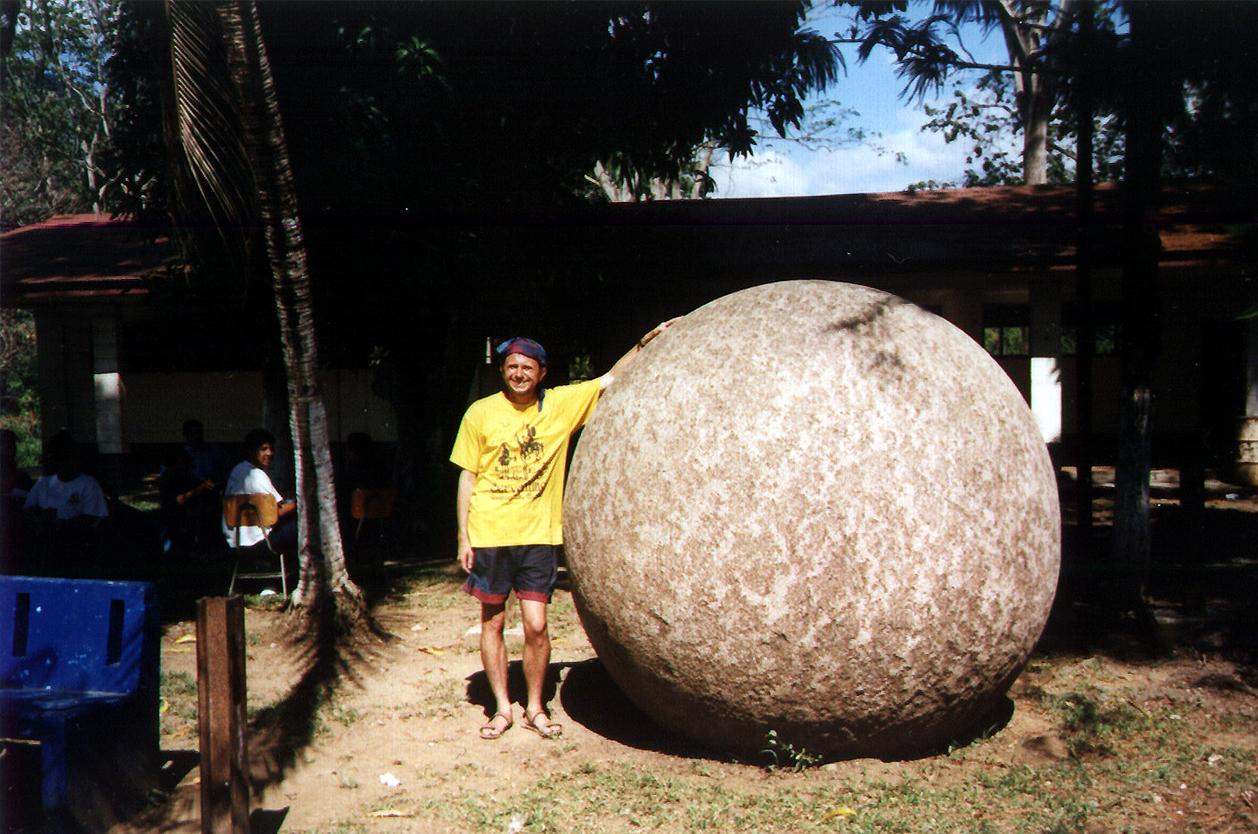 Tajemné kamenné koule, Palmar Norte, Kostarika