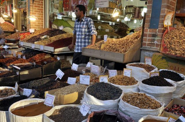 Trhy s kořením, Írán