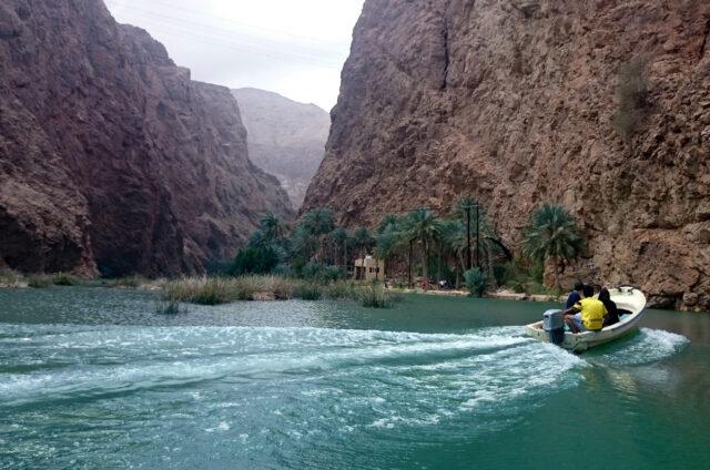 Vádí Shab, Omán